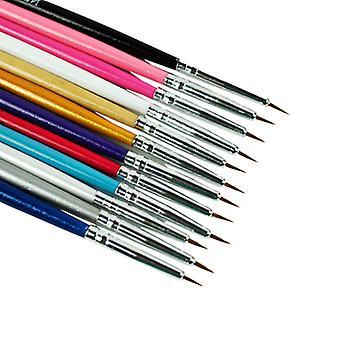 12pcs nail brushes for nail art