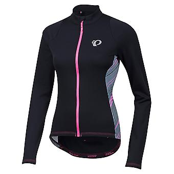Pearl Izumi Black Whirl Select Pursuit Thermal Womens Long Sleeved Cycling Jerse
