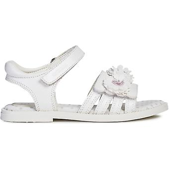Geox Girls Karly J9235D Sandals White