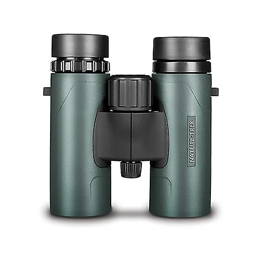 Hawke Nature Trek Binoculars - BAK 4 Roof Prism - 10x32 Green - latest version