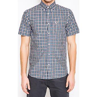 Fred Perry Poplin Men's Short Sleeve Shirt M6390-453