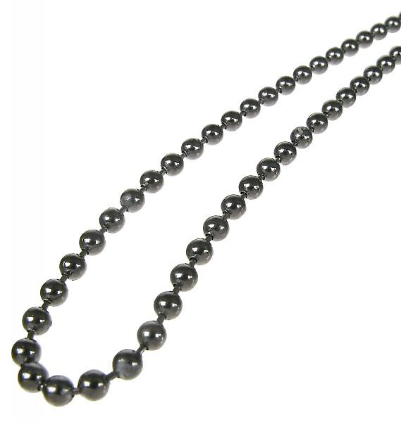 Cavendish French Sterling Silver Black Rhodium Plated Heavy Chain