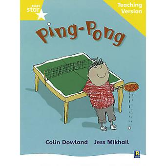 Rigby Star Phonic Guided Reading Yellow Level - Ping Pong Teaching Ver