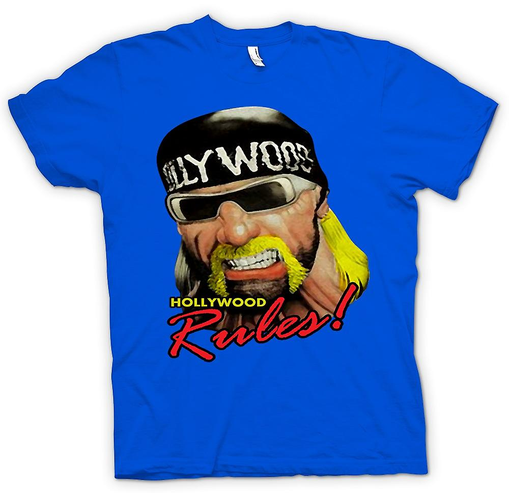 Mens t-shirt - Hulk Hogan - Hollywood regole