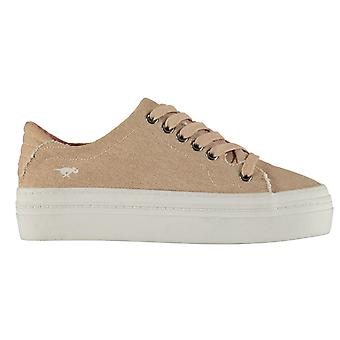 Rocket Dog Womens Milkyway Lace Up Outdoors Plimsolls Canvas Shoes Sneakers Pump