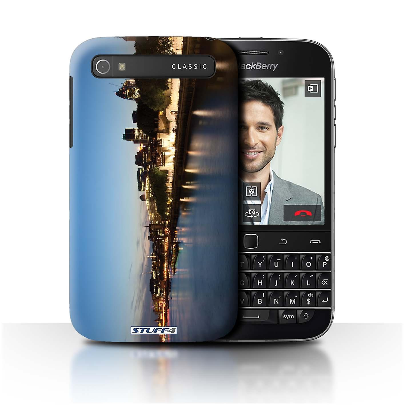 STUFF4 Case/Cover for Blackberry Classic/Q20/River Thames/London England