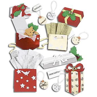 Jolee's Boutique Dimensional Stickers Christmas Gifts Spjb 043