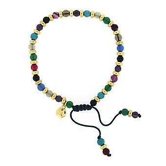 Lola Rose Compton armbånd lyserød Persisk agat blå sandsten