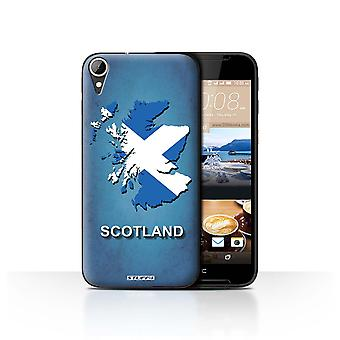 STUFF4 Case/Cover for HTC Desire 830/Scotland/Scottish/Flag Nations