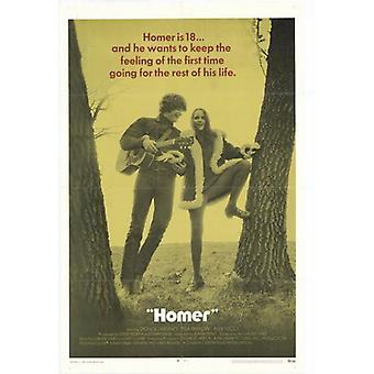 Гомер фильм плакат печать (27 x 40)