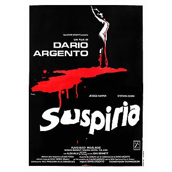 Suspiria Poster Art 1977 Movie Poster Masterprint