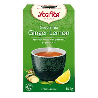 Yogi Tea - Green Tea Ginger Lemon Tea 17 Bag