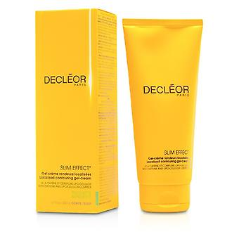 Decleor Slim effekt lokaliserade Contouring Gel Cream 200ml / 6,7 oz