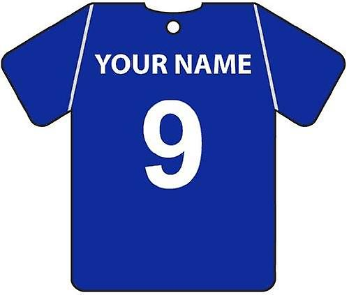 Personalised Carlisle United Football Shirt Car Air Freshener