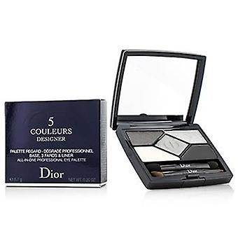 Christian Dior 5 Color Designer All In One Professional Eye Palette - No. 008 Smoky Design - 5.7g/0.2oz