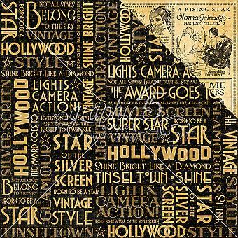 Vintage Hollywood ' Double-Sided Cardstock 12