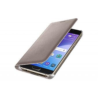 Samsung flip portefeuille Pochette couvercle EF WA310 Galaxy A3 2016 or