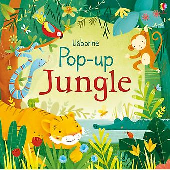 Pop-Up Jungle (Pop ups) (Board book) by Watt Fiona