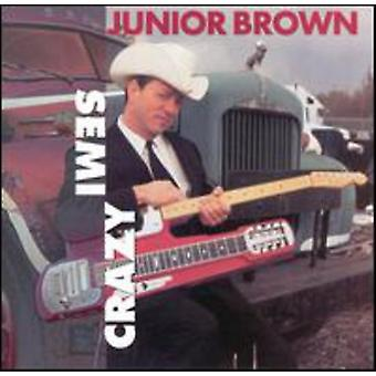 Junior Brown - semi Crazy [CD] USA import