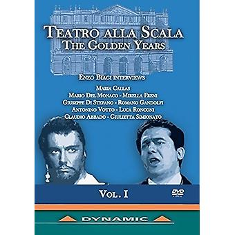 Teatro Alla Scala gyldne år 1 [DVD] USA importerer