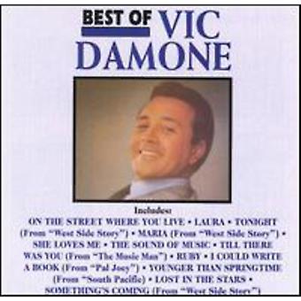 Vic Damone - bedste af Vic Damone [CD] USA import
