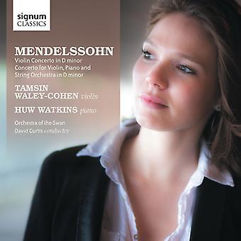 F el. Mendelssohn - Mendelssohn: Concierto de violín; Concierto para violín, Piano y cuerdas [CD] USA importar