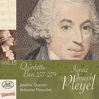 Pleyel/Janacek Qrt/Matousek-15-Str Quinets [CD] USA import