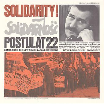 Solidarity!-Postulat 22: Songs From the New Polish - Solidarity!-Postulat 22: Songs From the New Polish [CD] USA import