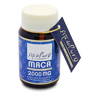 Tongil Maca 2000 Mg Estado Puro 60 Cápsulas 2000Mg