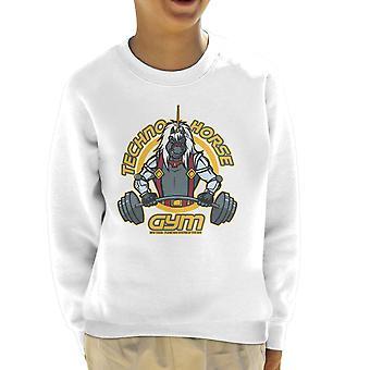 Techno hest Gym Bravestarr børne Sweatshirt
