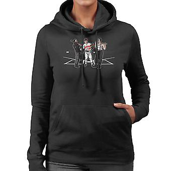 Pre Game Team Talk Walking Dead Inglorious Bastards Women's Hooded Sweatshirt