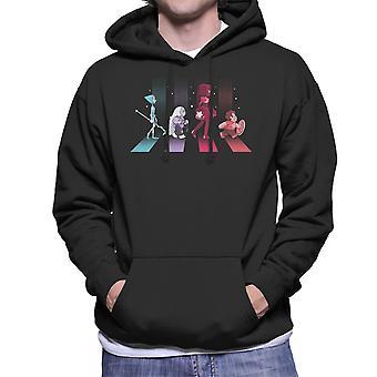 Crystal Road Steven Universe Men's Hooded Sweatshirt