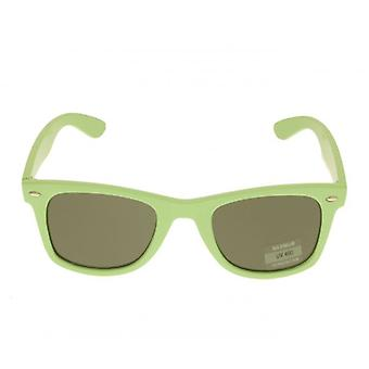 W.A.T Pastel Green Retro Dark Sunglass