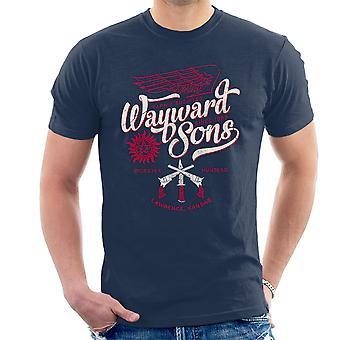 Overnaturlige villfarne sønner Mens t-skjorte