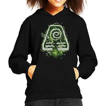 Avatar The Last Airbender Earth Tribe Kid's Hooded Sweatshirt