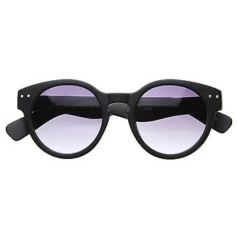 Retro Eyewear Vintage Inspired Bold Thick Circle Frames Round Sunglasses