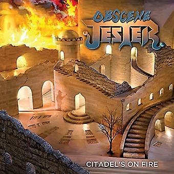 Obskøne Jester - Citadels på brand [CD] USA importerer