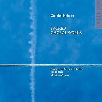 Gabriel Jackson - Gabriel Jackson: Hellige korværker [CD] USA import