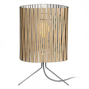 Graypants Leland White Kerf Table Lamp