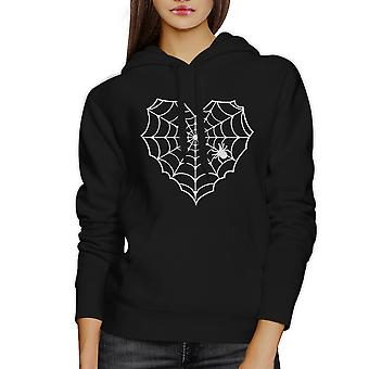 Araña Web Halloween Horror Nights suéter negro con capucha Top Unisex