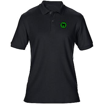 US Army 81st Infantry Division Embroidered Logo - Mens Polo Shirt