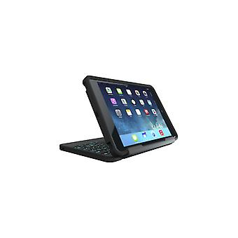 ZAGG Rugged Book With Keyboard iPad Mini 4 SvartBacklit Nordic