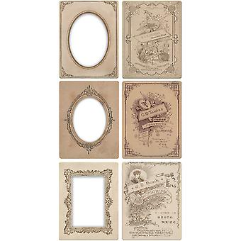 Idea Ology Mini Cabinet Cards Frames 3.25