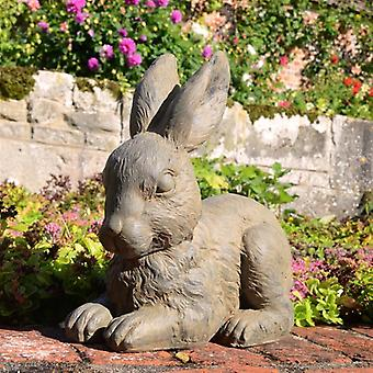 Solstice Sculptures Rabbit Rust Effect Statue