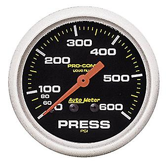 Auto Meter 5425 Pro-Comp Liquid-Filled Mechanical Pressure Gauge