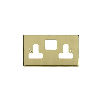 Hamilton Litestat Hartland Polished Brass SS2 Aperture Gridfix Plate