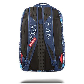 Sprayground Cherry Blossom Rubber Shark Backpack - Blue
