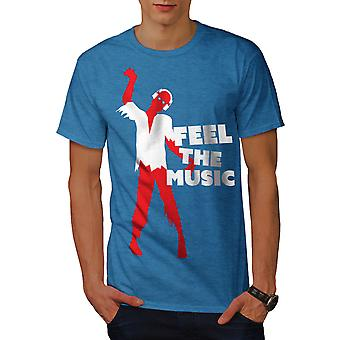 Zombie Feel Song Dj Music Men Royal BlueT-shirt | Wellcoda