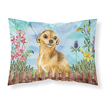 Chihuahua Spring Fabric Standard Pillowcase
