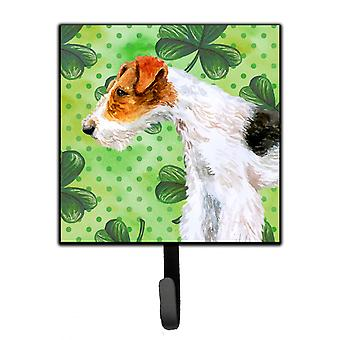 Carolines Treasures  BB9824SH4 Fox Terrier St Patrick's Leash or Key Holder